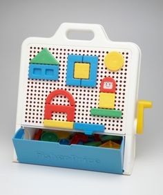 Fisher Price shape builder.