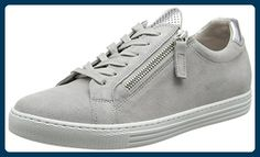Gabor Shoes Damen Comfort Sneaker, Grau (Light Grey Argento 40), 39 EU -  Sneakers für frauen ( Partner-Link) fbce9b339e