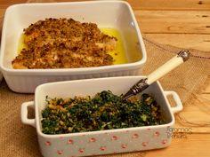 7gramas de ternura: Tranches de Salmão com Crosta de Broa e Mostarda