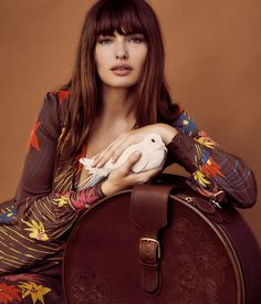 Alyssa Miller stars in Pilgrim handbag and luggage campaign