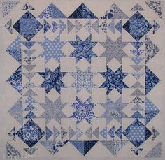 Another wonderful blue & white quilt
