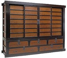Tansu - Japanese chests
