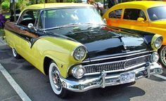 The Classic Ford facts about Classic 1955 Fords