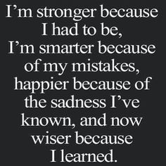 Im stronger