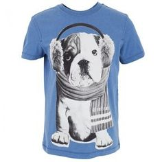 Firetrap Blue Dog with Ear Muffs Tee on shopstyle.com