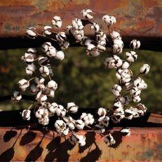 Small Cotton Wreath