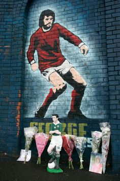 George Best died 10 years ago today. To commemorate his passing we take a look at some images of his career, and how football reacted after his death on 25 November 2005