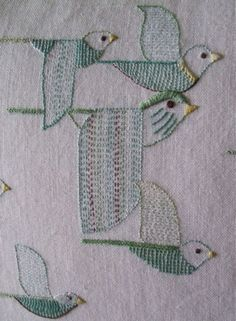 A Textile a Day: Embroidery