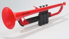 pTrumpet - Plastic Trumpet in Red