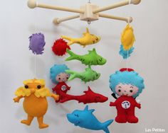 Hey I Found This Really Awesome Etsy Listing At Https Www 235541857 Baby Crib Mobile Dr Seuss