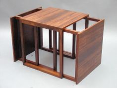 Nest of tables by Central-møbler in  Odense 1960's Price: SOLD
