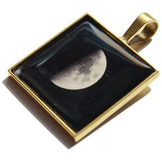 Steampunk Dark Moon Gothic Photo Pendant  by HConwayPhotography, $18.00