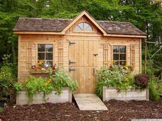 Incredible garden shed plans ideas 15