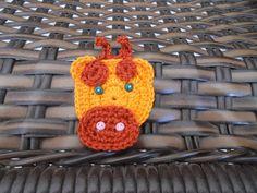 Girafa para Aplicação, use para decorar peças infantis, bolsas de bebê, roupas de bebê, jogo de berço ou peças de customização, ou fazer imã de geladeira, chaveiros e brindes.  Valor referente a unidade  Faço na cor que você quiser.  Para Lojista preço especial, fale comigo. R$ 3,00
