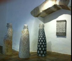 Gallery Terra Viva,  St. Quentin la Poterie,  France,  exhibition in August 2015