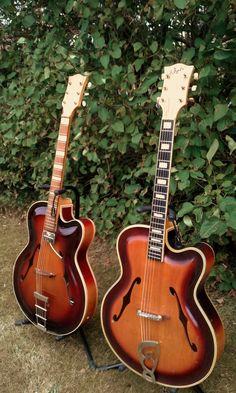 Pair of roger guitars