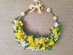 野の花シリーズ  ハーフムーン  イエローリース  お誕生日プレゼント、ウェディングボード、ご結婚祝、記念日ギフト