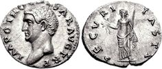 Silver coin of Emperor Otho. He reigned in 69 AD (3 months).