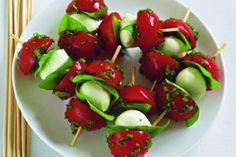 Rajčatové špízy