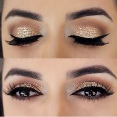 I really like the makeup for this, it would be something more drastic for a party or special event but still pretty