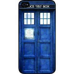 Tardis Doctor Who Police Box Time Machine iPhone 6 Case