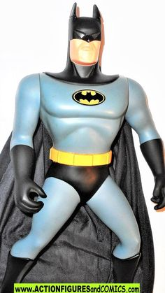batman animated series ULTIMATE 15 inch BATMAN 1994 dc universe Ultimate Batman, Batman Action Figures, Batman The Animated Series, Figure Size, Animation Series, Dc Universe, Marvel, Superhero, Superheroes