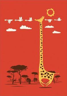 I'm Like A Bird by Lim Heng Swee - for Amina the giraffe