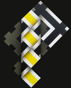 Omar rayo. Op Art, Tangle Art, Patchwork Patterns, Zentangle Patterns, Quilt Sets, Optical Illusions, Quilting Designs, Geometric Shapes, Sculpture Art