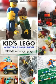 The Library Voice: LEGO Challenge Calendar....And Lots of Other LEGO Resources, Inspiration and Fun!