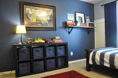 A Touch of Tyrell: Vintage & Car Themed Little Boy Room
