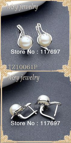 NOUVEAU 10 mm Blanc South Sea Shell Pearl Drop Dangle Boucles d/'oreilles or crochet AAA