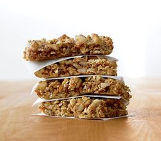 All it takes is a few minutes, and a food processor, to brew up a batch of homemade energy bars.