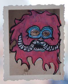 """""""of monsters"""" series  by Fernanda uribe"""