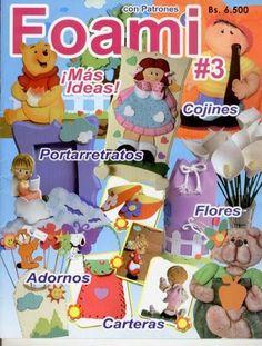 Revistas de manualidades Gratis: Como hacer adornos con foamy