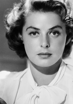 Actress Ingrid Bergman. Born 29 August 1915 Stockholm, Sweden. Died 29 August 1982 London