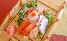 Assorted sashimi - best loved sushi in Medicine Hat Gluten Free Sushi, Gluten Free Soy Sauce, Sashimi, Medicine, Hat, Ethnic Recipes, Food, Chip Hat, Essen