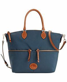Dooney & Bourke Nylon Large Pocket Satchel - Handbags & Accessories - Macy's