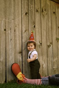 Vintage Circus party invitation by @Kristi Mollard