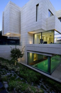 Dream Home : House in Pozuelo de Alarcón by A-cero Architects
