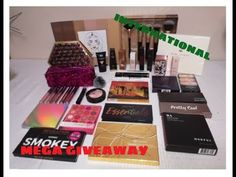 MEGA 11 PALETTE PLUS MAKEUP/BEAUTY NEW YEAR GIVEAWAY/ENTER ALL GIVEAWAYS