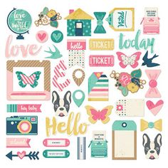 New Scrapbooking Supplies > Shapes FUSEable Ephemera - We R Memory Keepers: A Cherry On Top