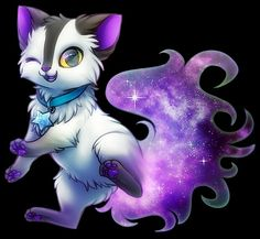 wolf anime cat drawing animal drawings mythical creatures animals fantasy pet kawaii space wolves oc stuff