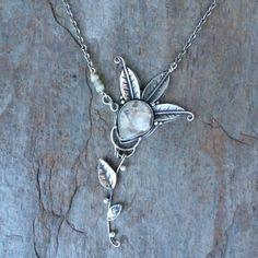 handmade necklace by Deborah Mortlock