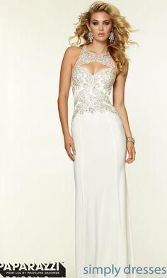 Dress, Mori Lee High Neck Prom Dress - Simply Dresses