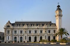 Sede de la autoridad portuaria de Valencia
