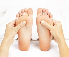 Treating your feet to reflexology