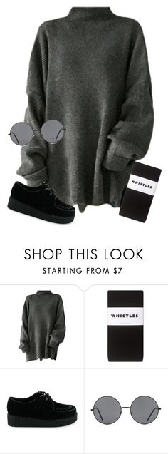 """""""Untitled #1155"""" by grayce-louise ❤ liked on Polyvore featuring Whistles and Forever 21"""