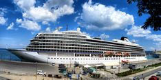 Viking Star cruise ship / Los Angeles, California -2015/, Port of Koper, Istria, Slovenia, Nikon Coolpix B700, 4.3mm, 1/1600s, 1/2000s, ISO100, f/3.8, f/4.2, panorama segment 3, HDR photography, 201805201226 #Koper