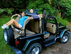 Jammock - 2.0 Jeep Hammock - Fits 1987 to 2015 Wrangler, Rubicon and Unlimited - 4WD.com