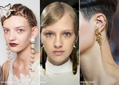 Spring/ Summer 2016 Jewelry Trends: Elongated Earrings & Necklaces #trends #accessories #jewelry